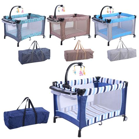 baby crib playpen baby playard playpen bassinet foldable crib newborn infant