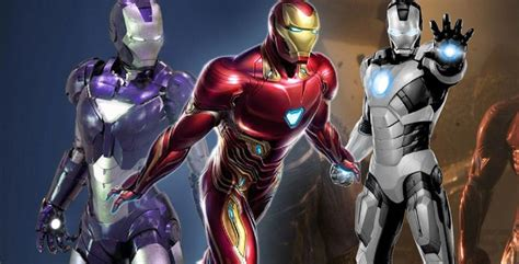rumor iron man suits avengers