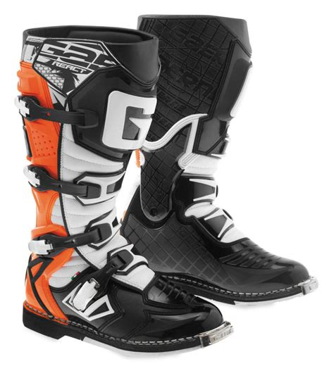 orange motocross boots 273 83 gaerne mens g react riding boots 1037207