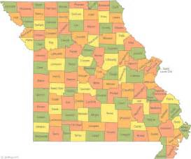 united states map of missouri missouri map
