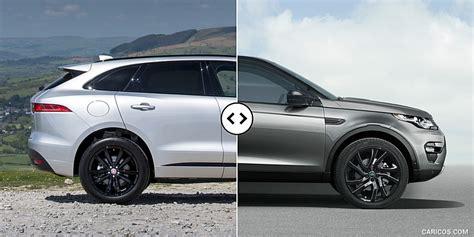 jaguar f pace vs discovery sport