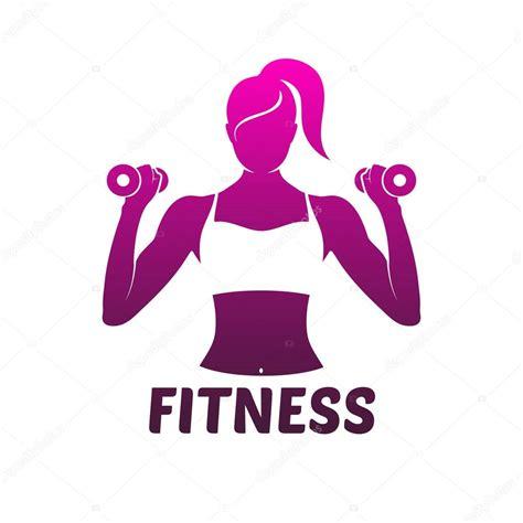 imagenes logos fitness silueta de chica fitness logo archivo im 225 genes