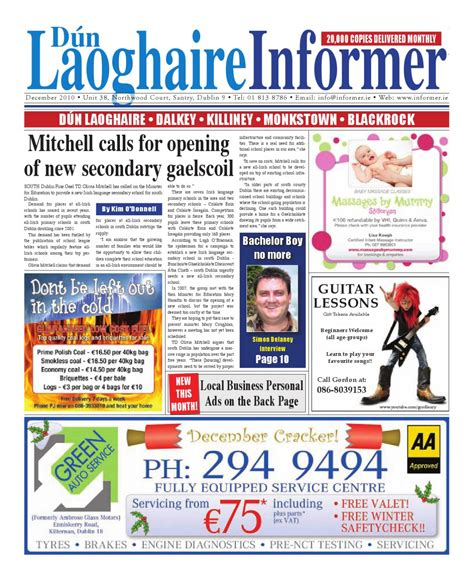 issuu jambi independent 01 desember 2010 by dun laoghaire informer dec 2010 by niall gormley issuu