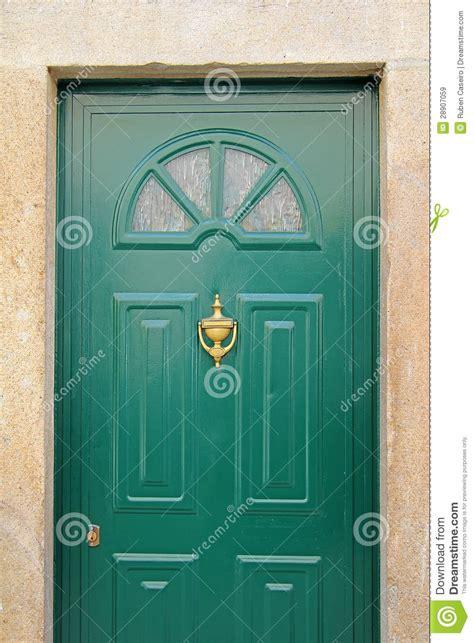 porta verde porta verde immagini stock libere da diritti immagine
