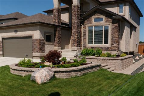 Landscape Architecture Winnipeg Retaining Wall Landscaping Photos Earthworks Landscaping