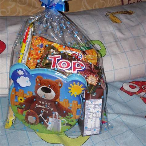 paket bingkisan ulang tahun anak makanan minuman snek