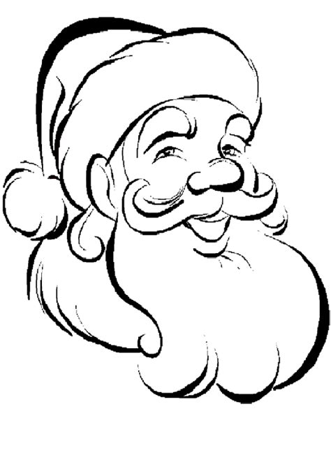 free coloring pictures of santa claus santa claus kids coloring pages and free colouring