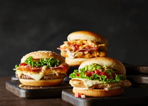 Mcdonald S mcdonald s launches line of signature crafted sandwiches