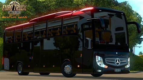 mod bus game ets2 mercedes benz travego bus mod ets2 ets2 mod