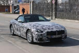Bmw E85 2019 Bmw Z4 Spyshots Confirm Manual Gearbox Will Be Available