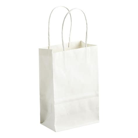 small gift bags small white gift bag the container store
