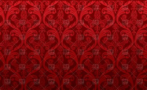 classic damask wallpaper red damask wallpaper classic ornament royalty free