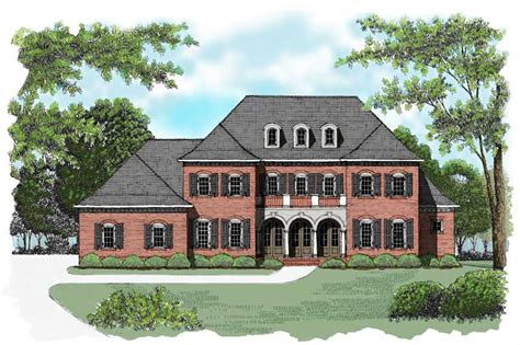 georgian colonial house plans colonial floor plan 4 bedrms 4 baths 4574 sq ft