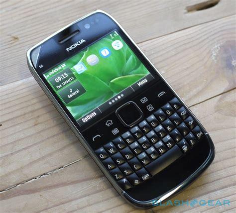 Hp Nokia Qwerty E6 nokia e6 on slashgear