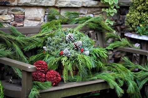 garten dekorieren weihnachten 40 stunning porch ideas