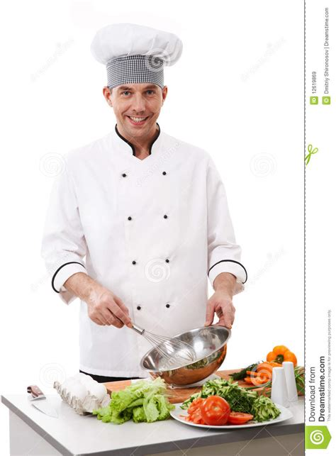 Cooking Chef cooking chef stock image image of gourmet cook