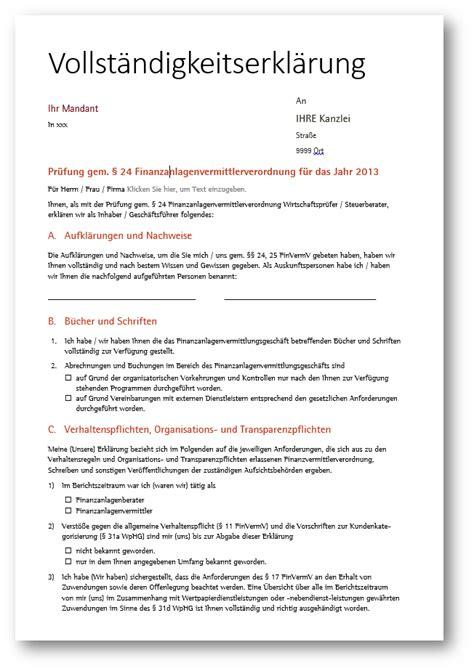 Muster Jahresabschluss Muster Pr 252 Fungsbericht F 252 R Pr 252 Fung Finanzanlagenvermittler