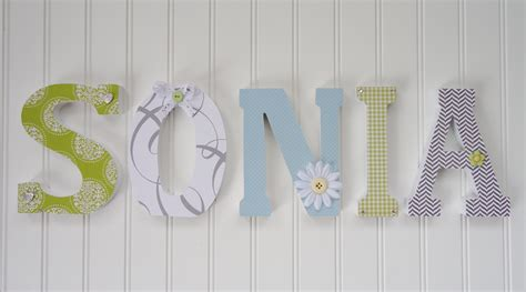 How To Decorate Wooden Letters For Nursery Unavailable Listing On Etsy