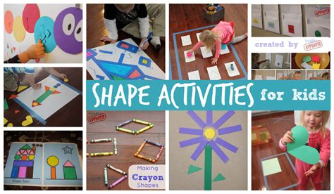 activities and crafts for toddler approved 25 shape activities and crafts for