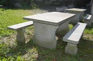 steintisch garten granittisch und bank aus tessiner naturstein gartentisch