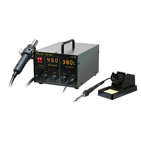 Test Product Ss ss 989a eclipse ss 989a 2 in 1 smd air rework station at the test equipment depot