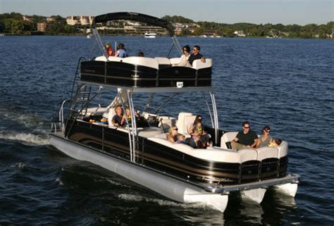 double decker pontoon for sale boat for sale double decker pontoon boat for sale