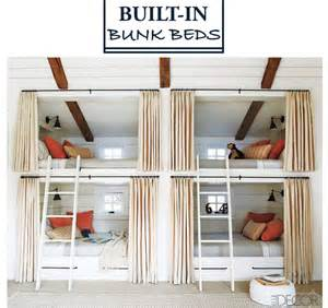Built In Bunk Bed Plans Style Profile Built In Bunk Beds Dicorcia Design
