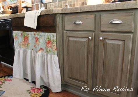 grey stained cabinets like the lighter grey 2nd but the flat drawer profile of the 3rd hometalk vintage farm kitchen