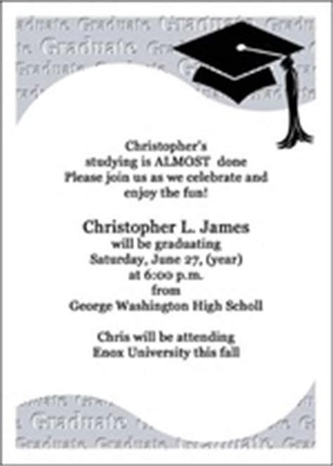 8th grade graduation invitations, middle school