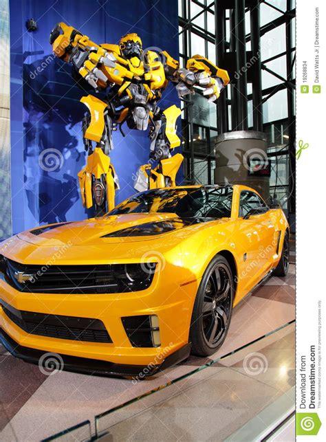 Termos 3d Transfomers Buble Bee camaro transformador mostra internacional de ny na auto