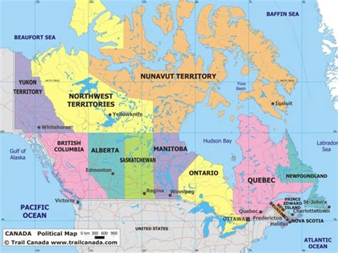 show me a map of usa and canada canada map political city map of canada city geography