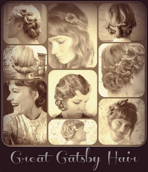 hair style form the great gatsby era how to hair girl gatsby hair archives
