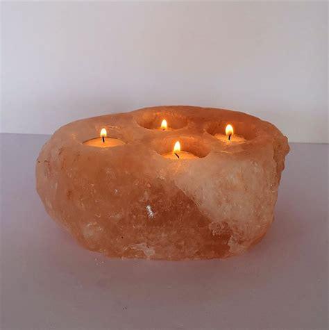 salt l candle holder the 25 best himalayan salt candle holder ideas on