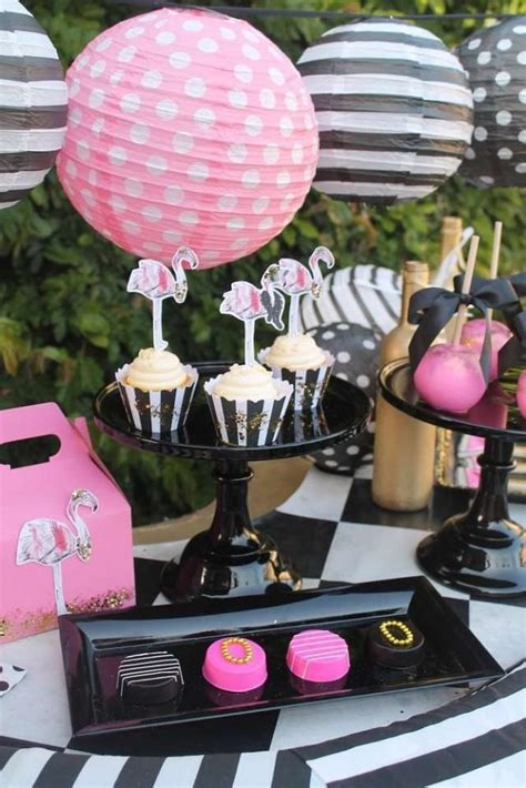 wedding theme flamingos day party ideas