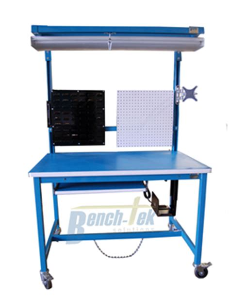 modular work bench esd modular mobile workbench bench tek solutions
