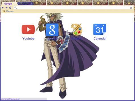 google chrome themes yugioh yu gi oh yami marik theme chrome theme themebeta
