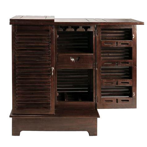meuble de bar en mahogany massif l 80 cm planteur