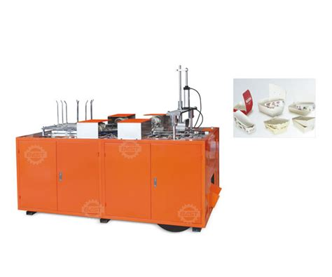 Paper Box Machine - mechanism paper lunch meal food box dish forming