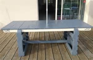tuto cr 233 ation d une table de jardin table d exterieur
