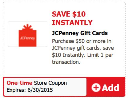 Jcpenney Gift Card Check - hot safeway get 100 in jc penney gift cards for 75