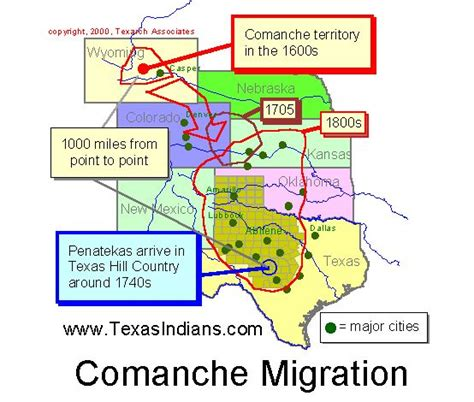 map of indian tribes in texas the comanche indians texas indians
