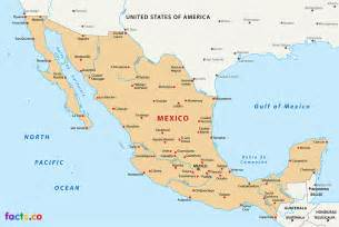 Mexico City On A Map by Mexico City Map Submited Images