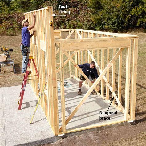 finally build  dream shed  family handyman