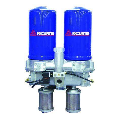fs curtis scfm modular desiccant dryer  pre filter da