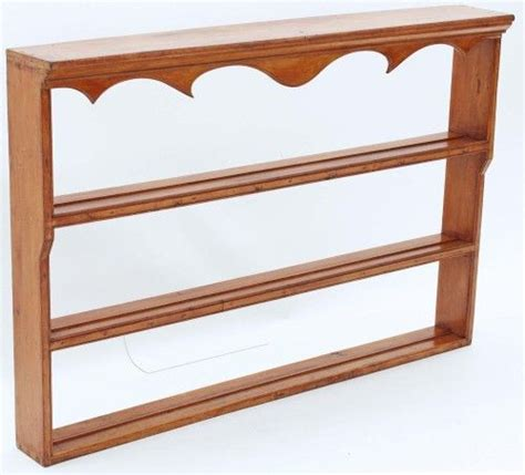 Wooden Plate Display Rack by Wooden Wall Mounted Plate Display Rack Woodworking