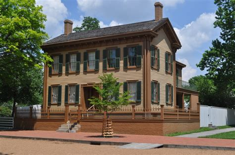 springfield house springfield illinois lincoln museum next day from