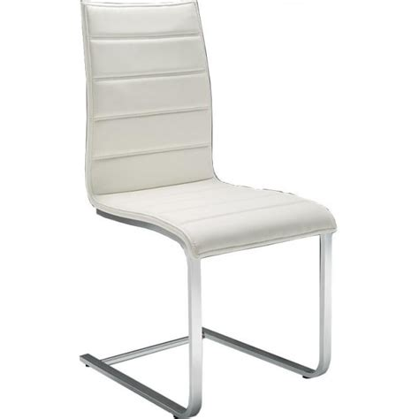 cantilever dining chair modena cantilever dining chair in white at smiths the rink