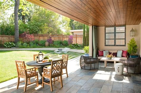 covered outdoor seating pretty covered patio with plenty of outdoor seating and a