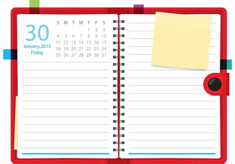 free printable planner art daily planner vector notebook download free vector art