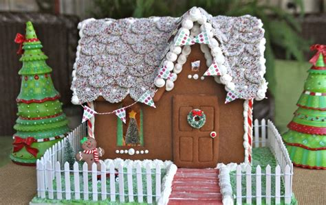 musical gingerbread house how to make build a gingerbread house with photos recipe